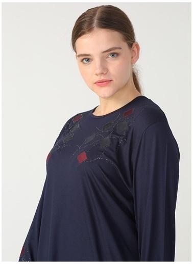 Papilla Papilla 8663 Lacivert Kadın Bluz Lacivert